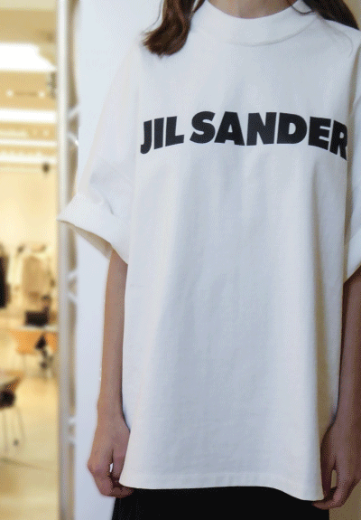 T-Shirt mit Logo 707020 - JIL SANDER